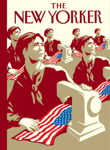 Niemann NY Mag US flags, Chinese workers
